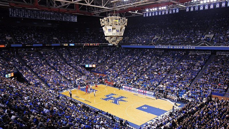 Rupp Arena (Kentucky) - Our Bucket List of College ...