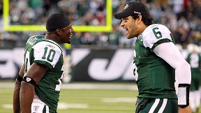 Santonio Holmes, Mark Sanchez
