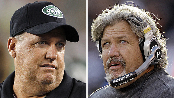 Rex and Rob Ryan