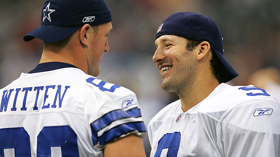 Tony Romo and Jason Witten