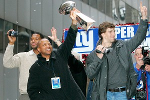 Jerry Reese, Eli Manning