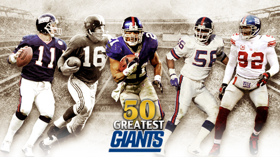 50 Greatest Giants