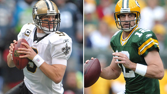 Drew Brees/Aaron Rodgers