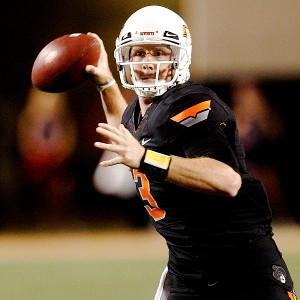Oklahoma State's Brandon Weeden