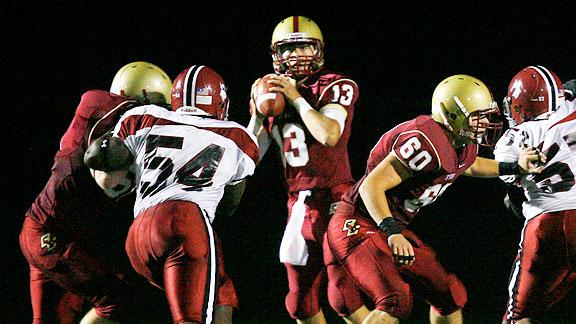BC High School quarterback