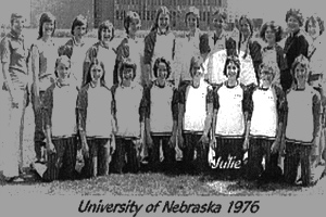 1976 Cornhuskers Softball Team