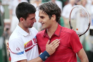 Novak Djokovic, and Roger Federer