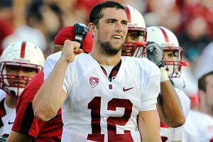 Stanford quarterback Andrew Luck