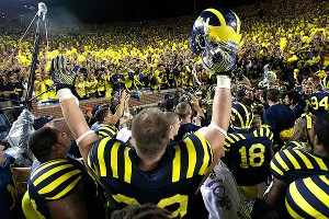 Michigan celebrates