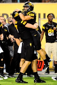 ASU's Brock Osweiler and Aaron Pflugrad