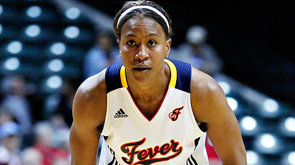 How well Tamika Catchings' right knee feels might determine how far Indiana goes.