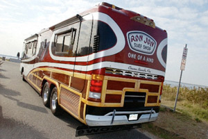 The RV where DiMenna has spent much of the past 10 years.