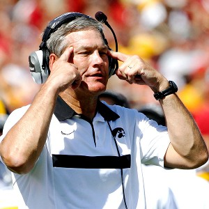 Iowa coach Kirk Ferentz