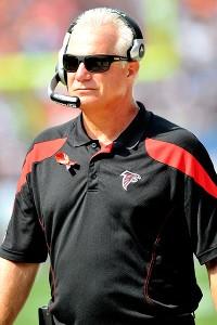 Atlanta coach Mike Smith
