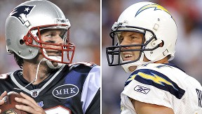 Tom Brady and Phillip Rivers