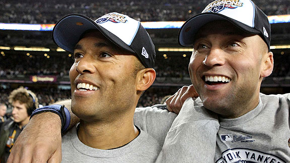 Mariano Rivera and Derek Jeter