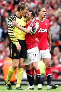 Manchester United Celebration