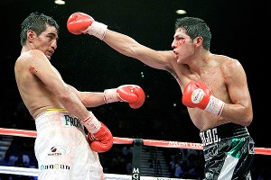 Erik Morales and Pablo Cesar Cano