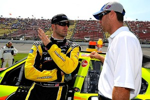 Paul Menard and Kevin Harvick