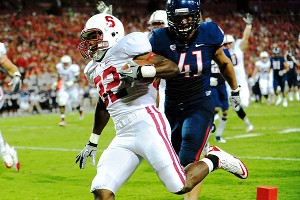 Stanford Cardinal running back Anthony Wilkerson