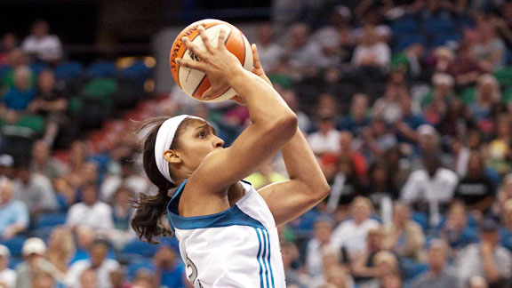 It's been a long season for the WNBA's rookie of the year. She talks about the ups and downs that have brought her Lynx to a 1-1 tie in the West semis.
