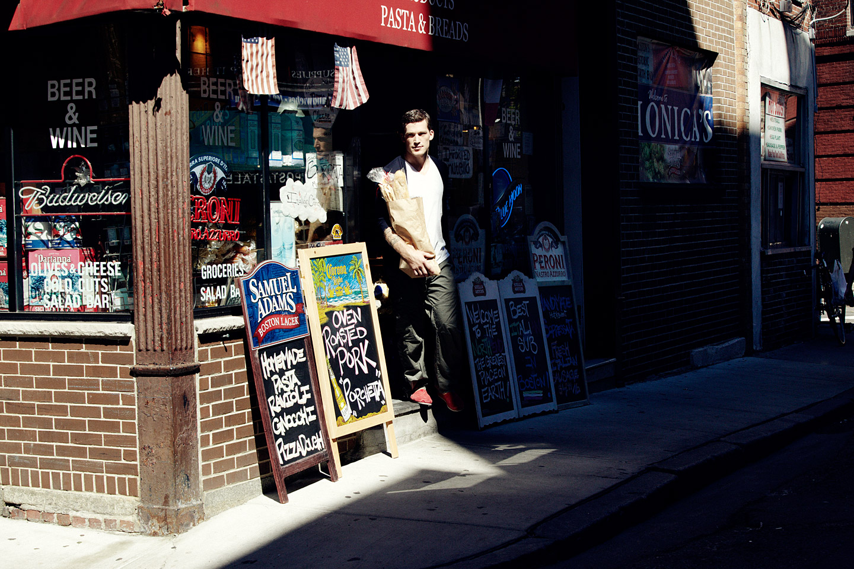 Andrew Ference, Monica's Mercato, Salem Street
