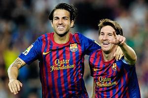 Fabregas/Messi
