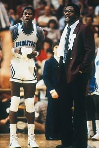 Patrick Ewing and John Thompson