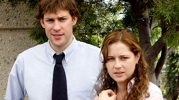 Jim and Pam in