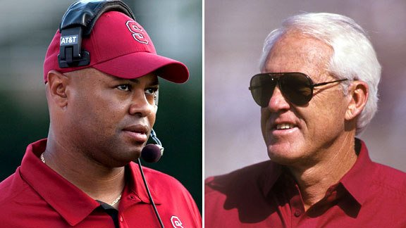 David Shaw and Bill Walsh