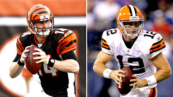 Andy Dalton and Colt McCoy
