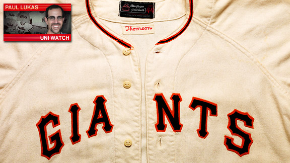 Page 2 Giants Uniwatch