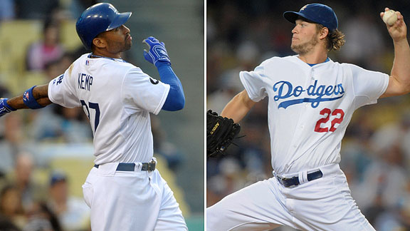 Matt Kemp/Clayton Kershaw