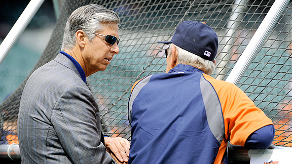Dave Dombrowski and Jim Leyland