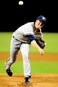 Milwaukee's Zach Greinke