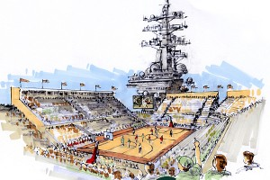 Carrier Classic (Artist Rendering)