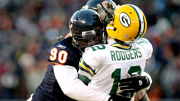 Aaron Rodgers and Julius Peppers