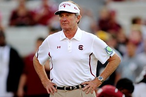 South Carolina's Steve Spurrier
