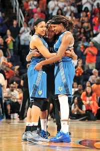 Minnesota Lynx celebrate