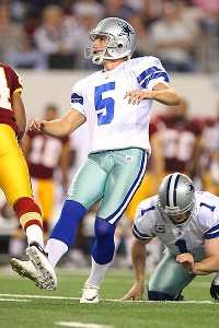 Dallas Cowboys rookie kicker Dan Bailey calmly makes history with six