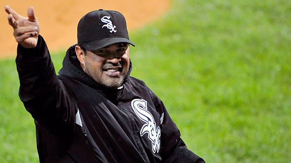 Ozzie Guillen in 2011 with the Chicago White Sox