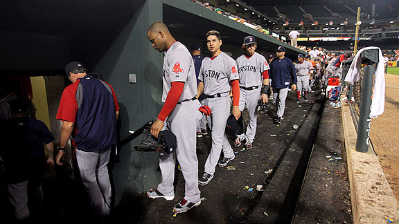 Red Sox dejected