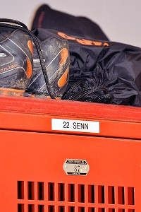 Connor Senn's locker