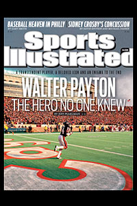 Walter Payton SI Cover