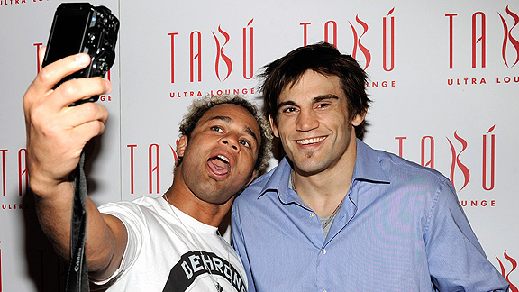 Josh Koscheck and Jon Fitch