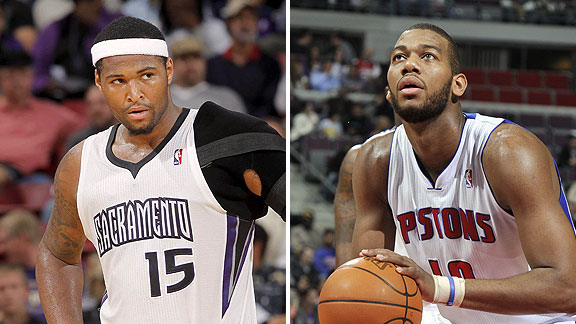 DeMarcus Cousins and Greg Monroe