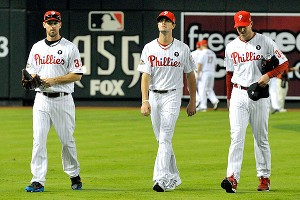 Cliff Lee, Cole Hamels and Roy Halladay