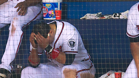 Martin Prado after the Braves missed the playoffs in 2011