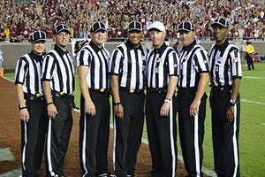 Big 12 officiating crew