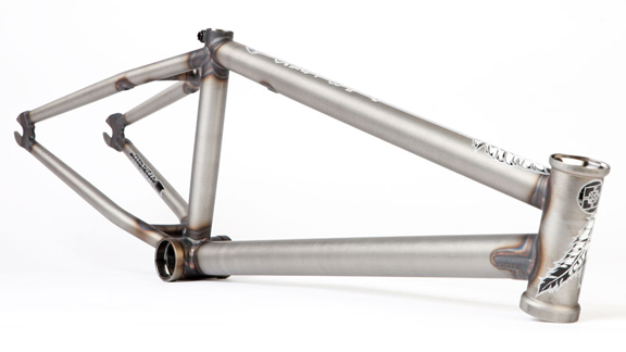 mike aitkens signature fit bike co s4 frame handmade by sm in calif